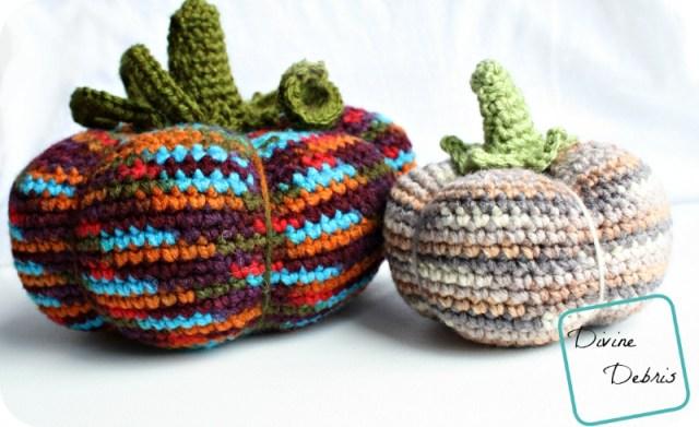 Ami Pumpkin Pattern by DivineDebris.com