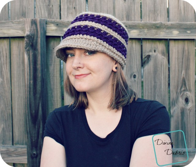 Diana Hat pattern by DivineDebris.com