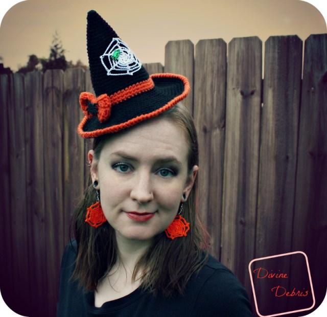Witch Hat crochet pattern by Divinedebris.com