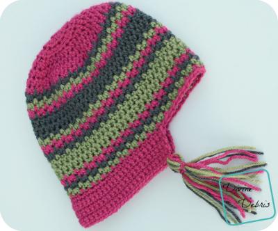 Willow Bonnet Crochet Pattern by DivineDebris.com