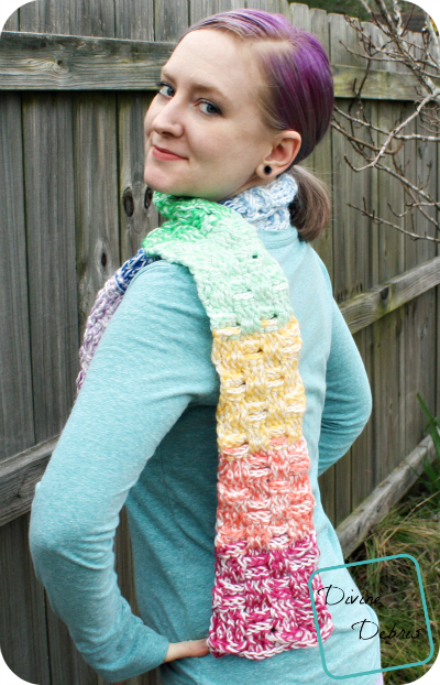 Becca Scarf- a free crochet pattern by DivineDebris.com