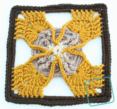 Olivia Square crochet pattern by DivineDebris.com