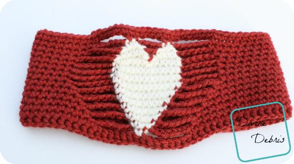 Candace Headband free crochet pattern by DivineDebris.com