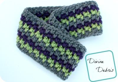 Free Willow Earwarmer crochet pattern by DivineDebris.com