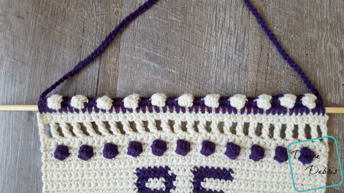 Be Kind Wall-Hanging free crochet pattern by DivineDebris.com