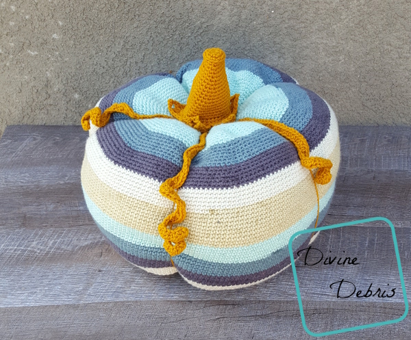 That's a Big Pumpkin, Charlie Brown – a Big Free Crochet Pattern