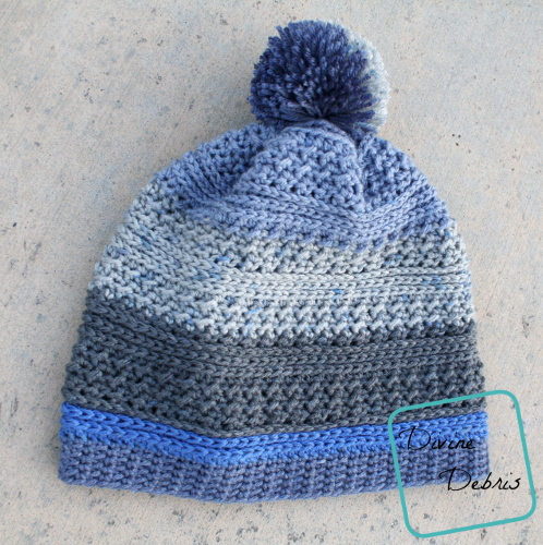 Diana Is Back Again with the Diana Beanie free crochet pattern