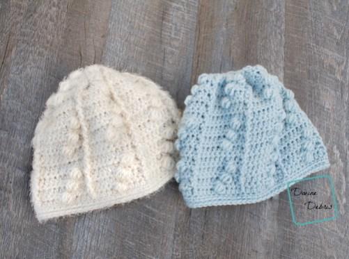 Kira Beanie free crochet pattern by DivineDebris.com