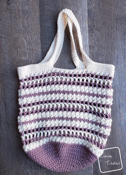 An Embarrassment of Bags, the Diana Market Tote Free Crochet Pattern