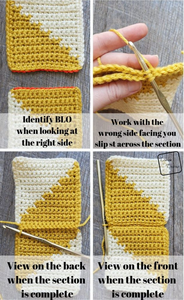 Seaming your blanket photo tutorial