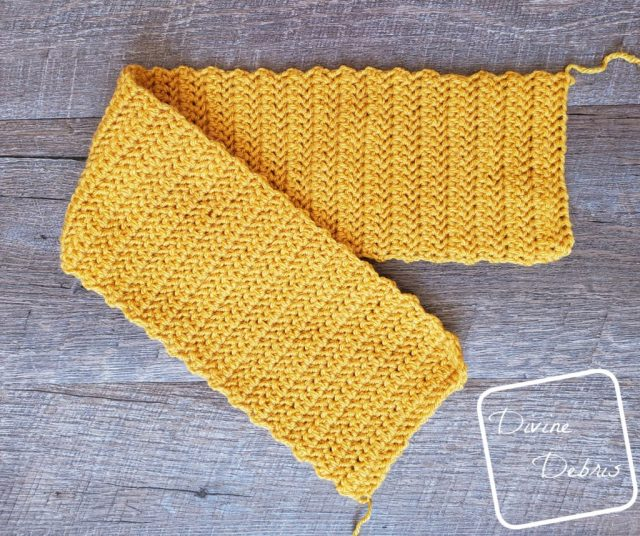 Simple Twist Headband crochet pattern by Divine Debris