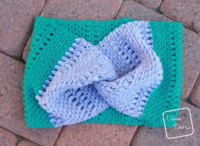 Whitney Cowl free crochet pattern on DivineDebris.com