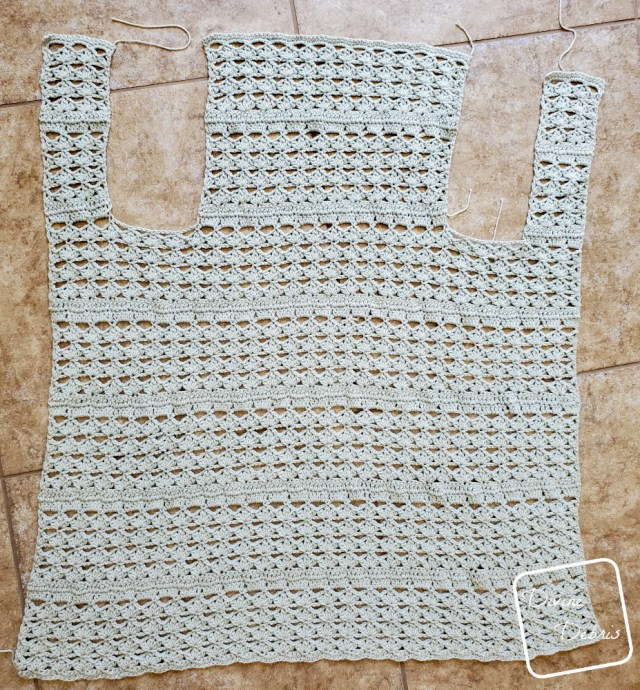 Harper Vest free crochet pattern by DivineDebris.com