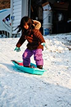 Jess snowboard