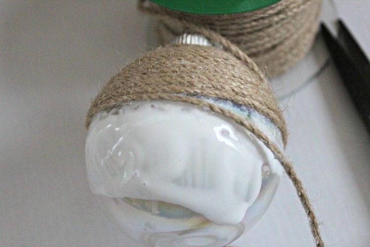 DIY Twine Ornament 3