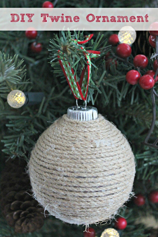 DIY Twine Ornament