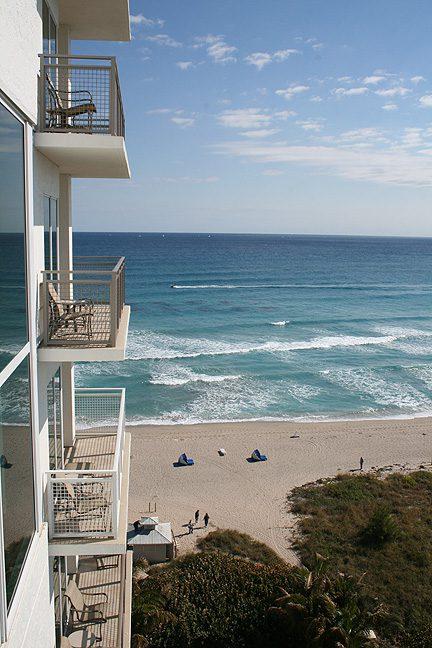 Marriott's Oceana Palms Balcony and Ocean View
