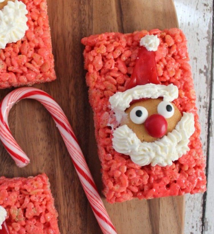 Santa Rice Krispies Treats 2