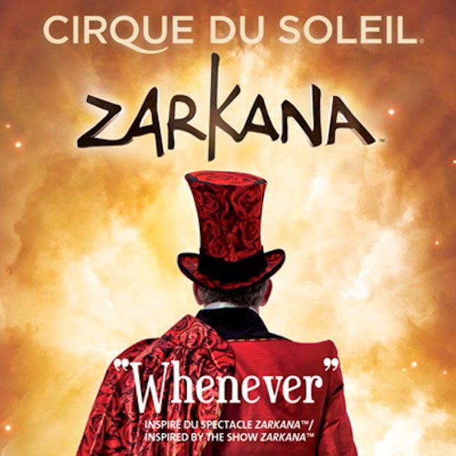 Cirque du Soleil Zarkana at ARIA #HowWeVegas