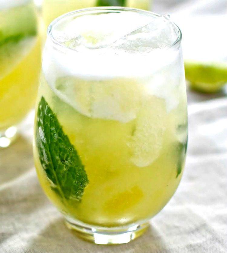 Pineapple Mojito 2