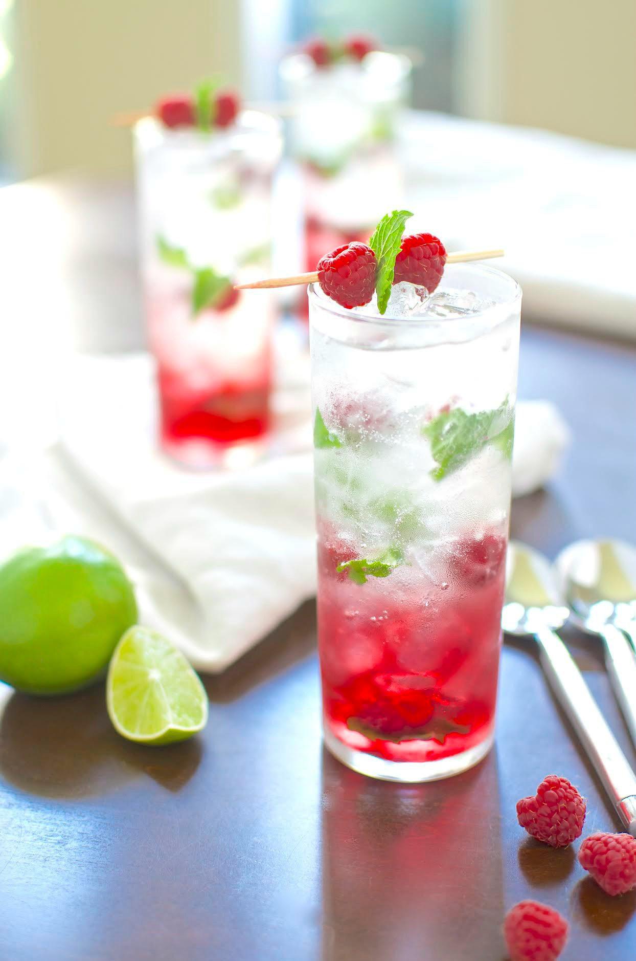 Raspberry Grapefruit Mojito Recipe Captain Morgan Rum