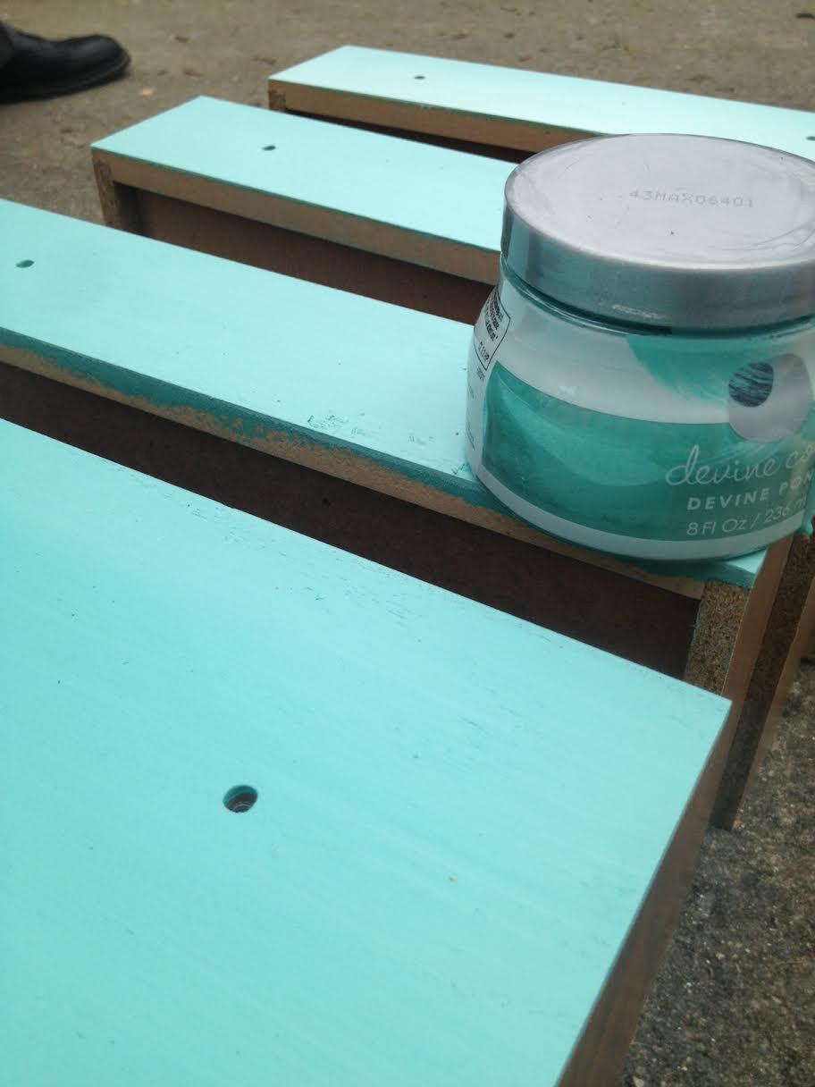 DIY Ombre Dresser 9