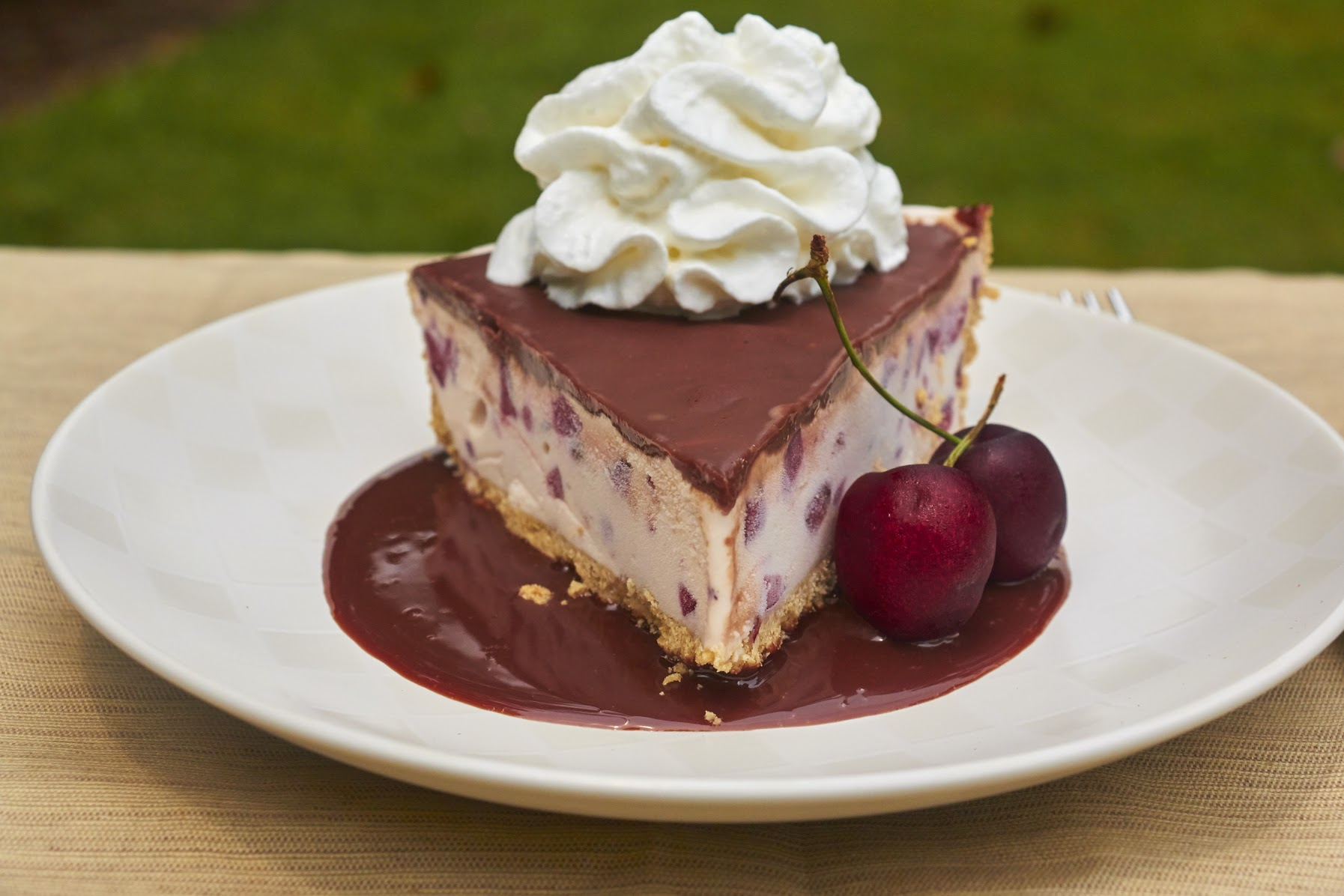 Fresh Cherry & Frozen Custard Pie Recipe with EDY'S® Old Fashioned Vanilla Frozen Custard 9