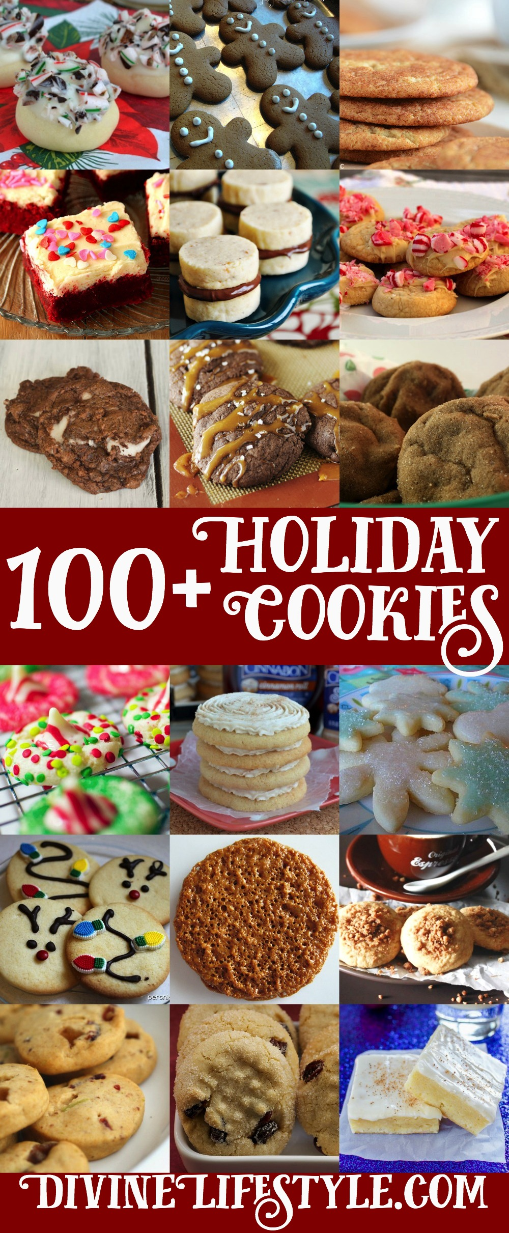 Ultimate List of 100 Holiday Cookies Recipes