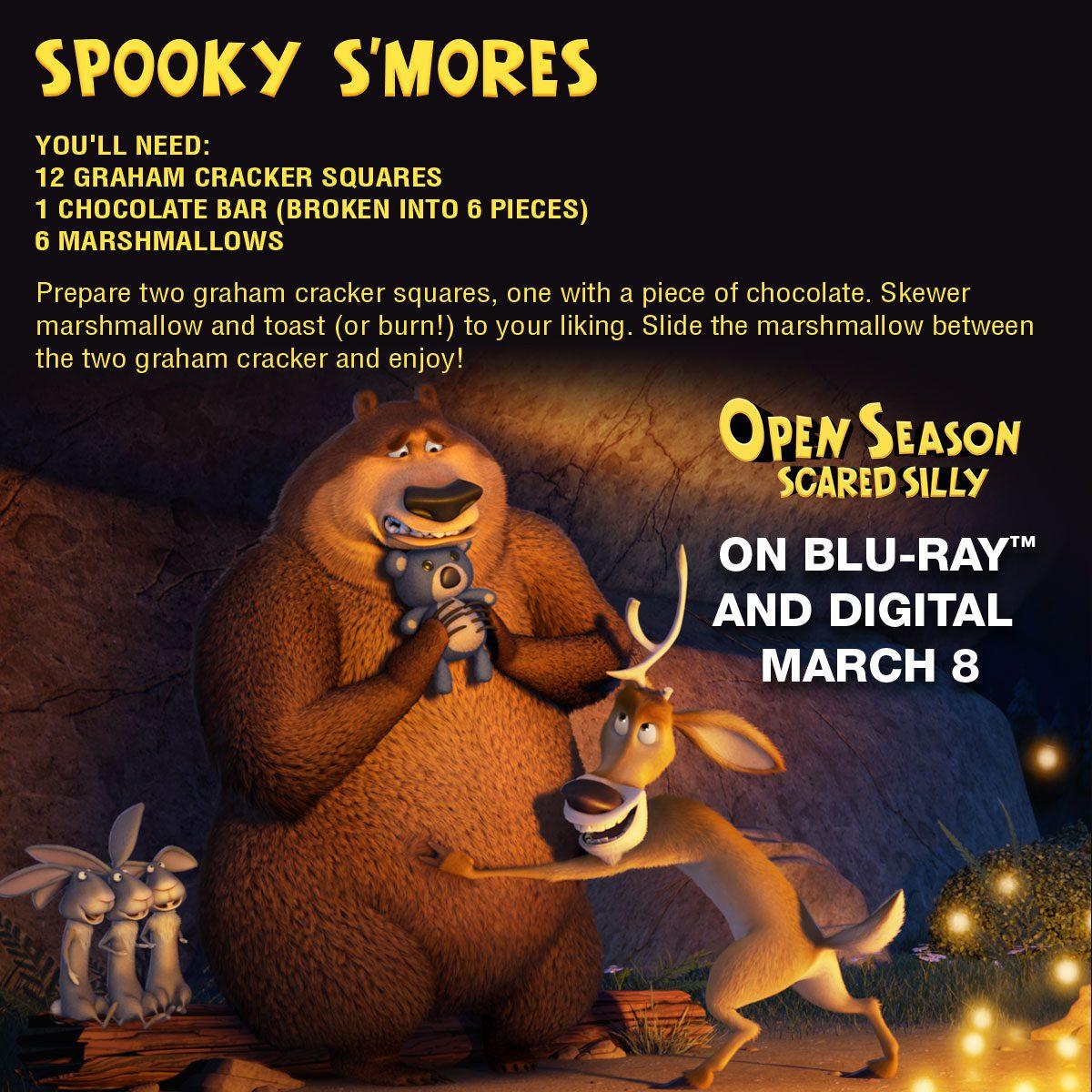 Open Season Scared Silly Spooky Smores