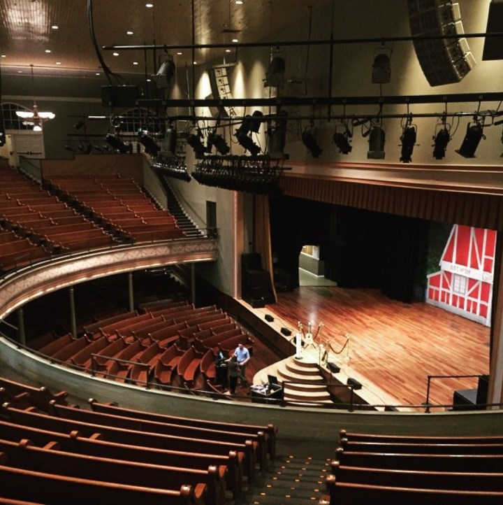 Adventures by Disney Long Nashville Weekend in Pictures Ryman Theater