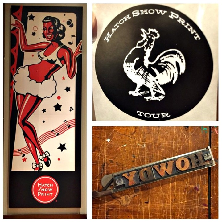 Adventures by Disney Long Nashville Weekend in Pictures Hatch Show Print