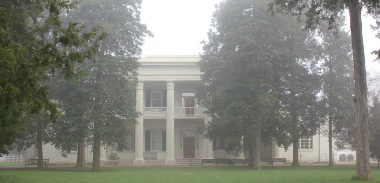 Andrew Jackson's Hermitage home in Nashville Tennessee