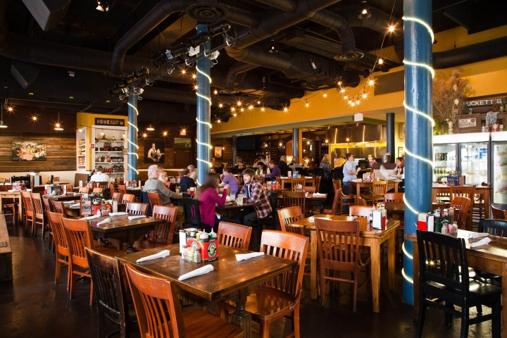 Dining Scene in Nashville Tennessee Pucketts Grocery and Restaurant
