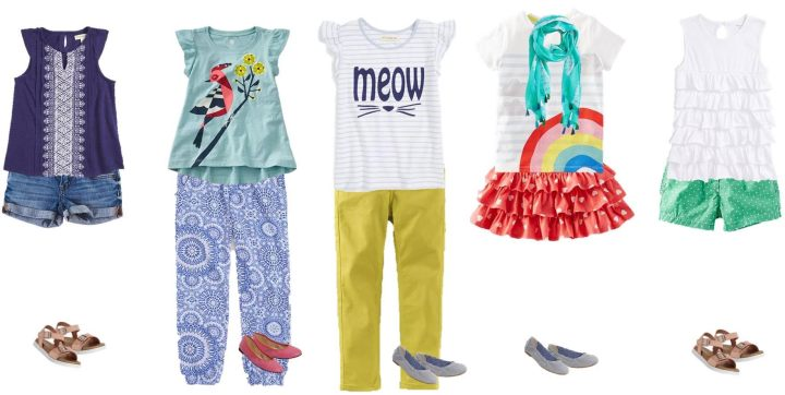 Kids' Summer Mix & Match Styles from Nordstrom Girls 1