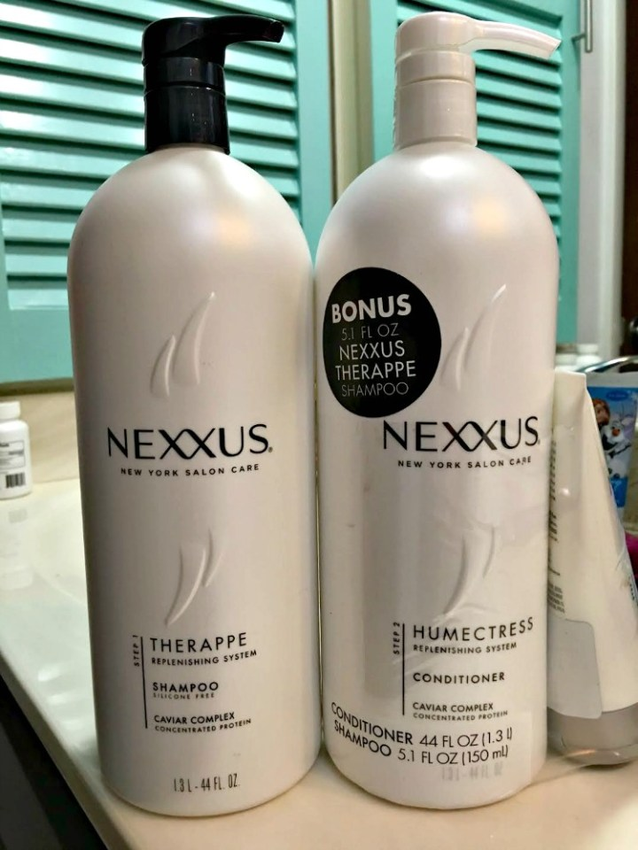 Nexxus Therappe Shampoo and Humectress Conditioner Review