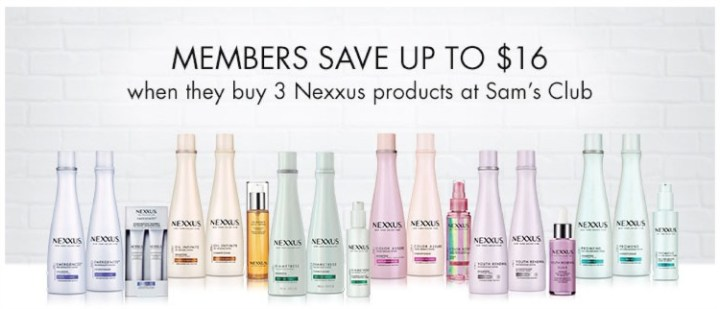 Nexxus Therappe Shampoo and Humectress Conditioner Review Sams CLub