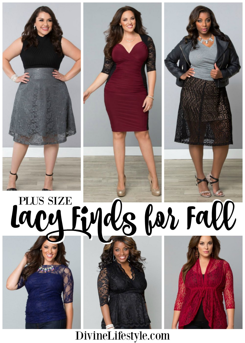 Plus Size Lacy Finds for Fall