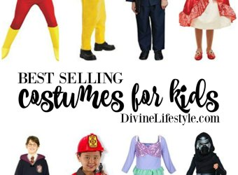 Best selling costumes for kids on Amazon