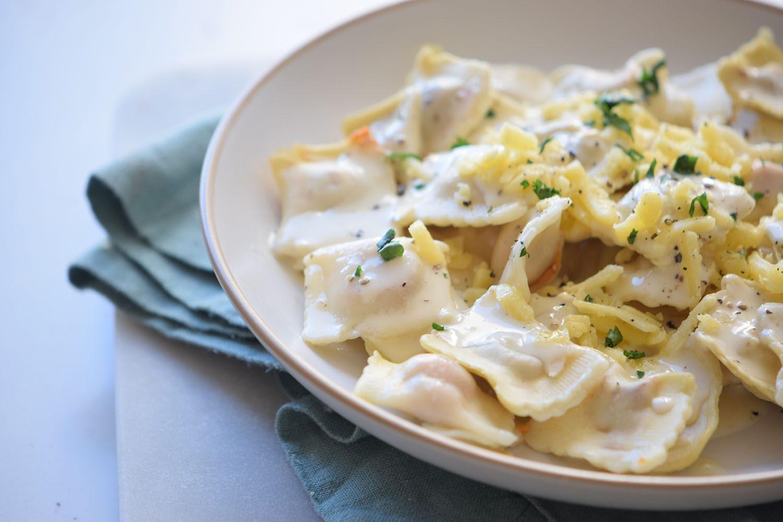 Mac and Cheese Ravioli Recipe