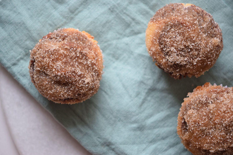 Nutella Stuffed Sugar Muffins Recipe