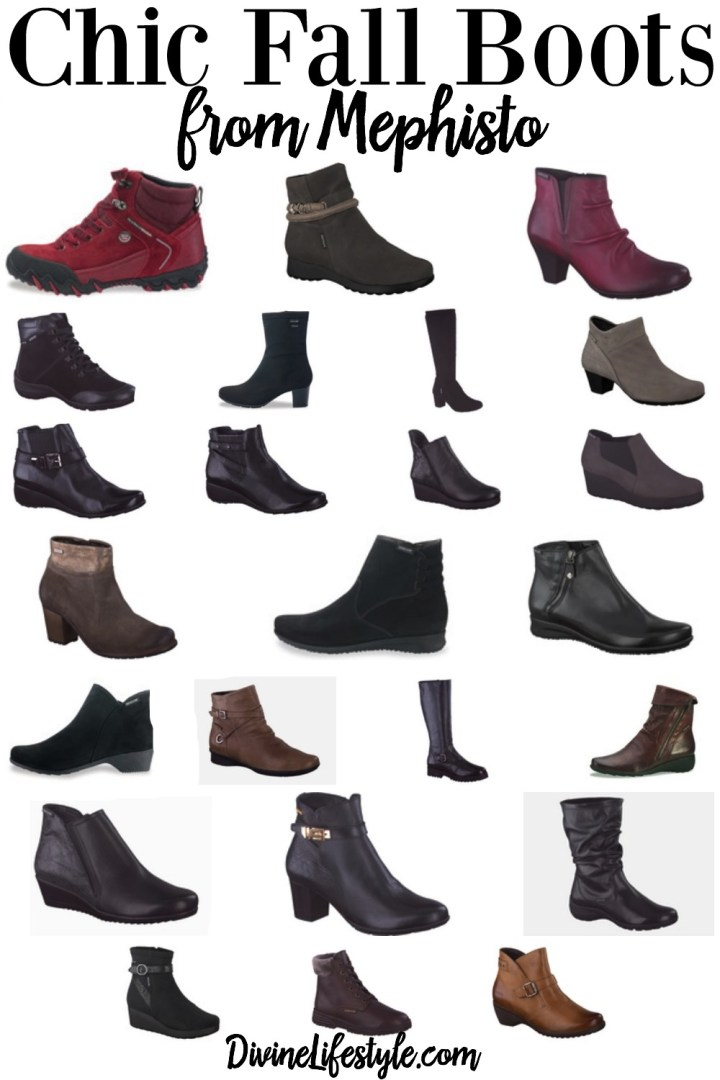 Chic Fall Boots from Mephisto