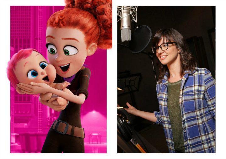 Meet the characters in STORKS the Movie #STORKS Katie Crown