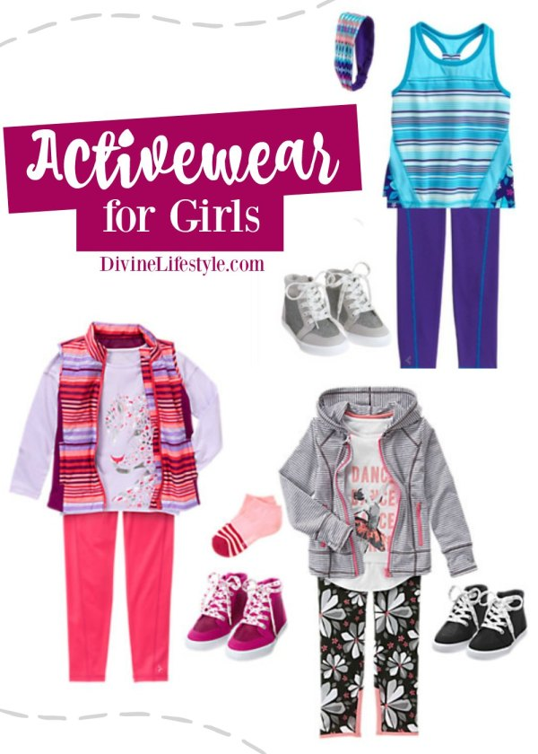 Activewear for Active Girls from Gymboree
