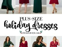 Plus-Size Holiday Dresses