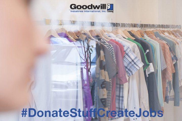 Goodwill's Donate Stuff to Create Jobs Campaign #DonateStuffCreateJobs