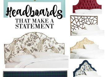 Headboards that Make a Statement