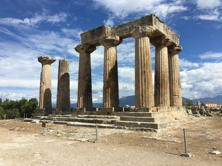 Visiting Korinthos Greece
