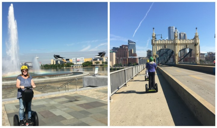 What to do in Pittsburgh Pennsylvania #LovePGH @vstpgh Segway tour