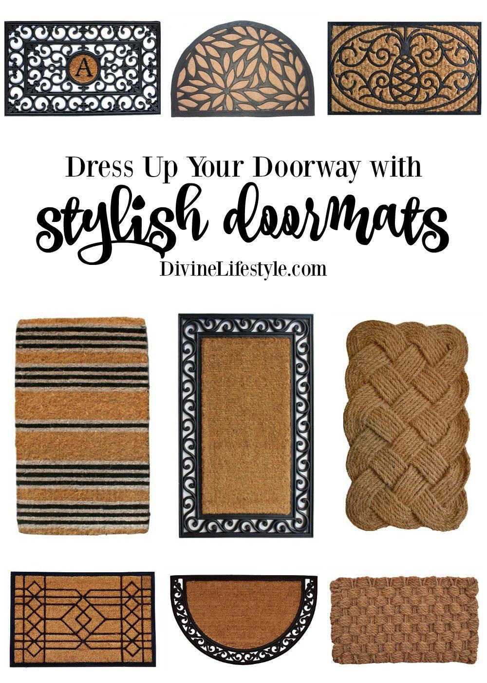 Stylish Doormats to Dress Up Your Doorway