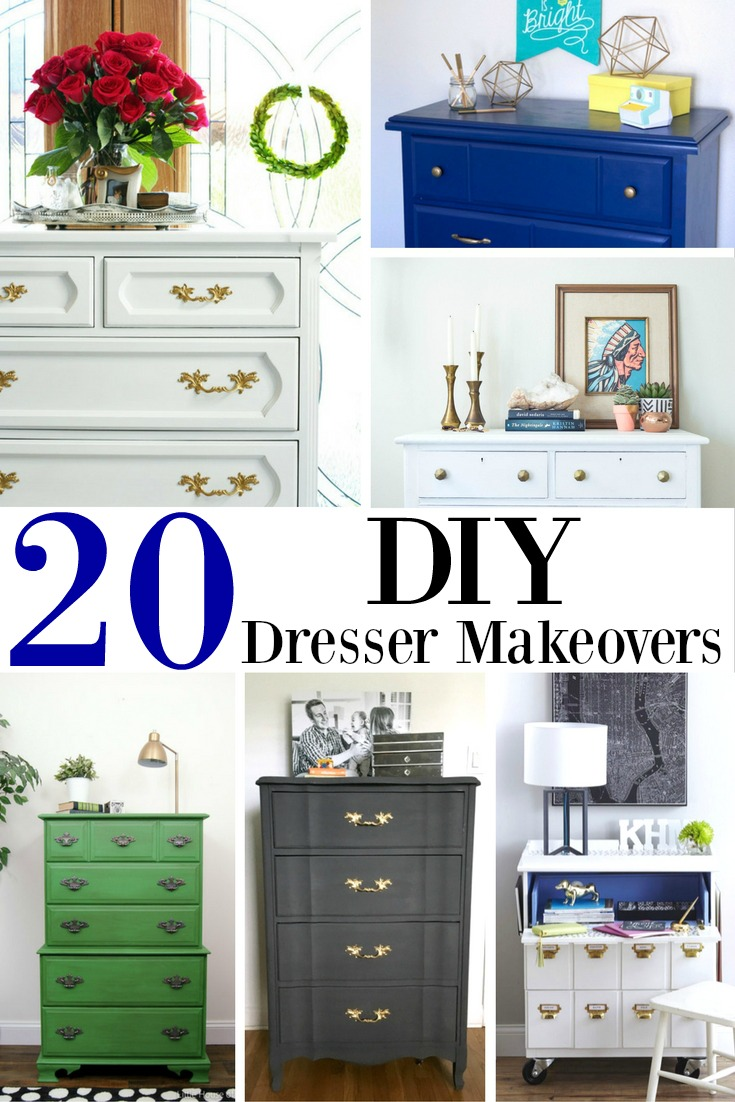 20 DIY Dresser Makeovers